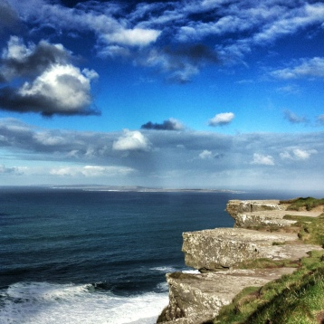 Ireland's goregeous Cliff's of Moher.