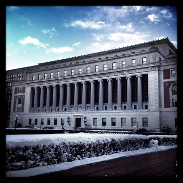 Butler Library, Columbia University. aka my second office.
