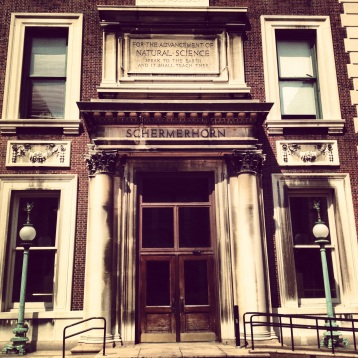 """""""Speak to the Earth and it Shall Teach Thee."""" The Schermerhorn Building at Columbia University."""