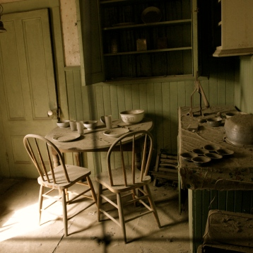 Ghost town in the Bodie Hills, east of the Sierra Nevada Mts. in California.