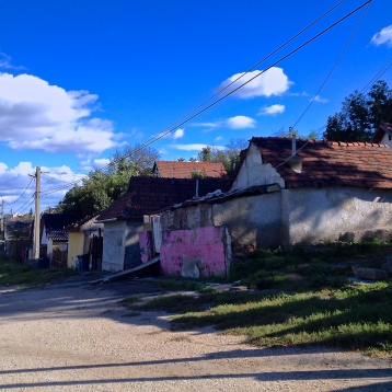 "Vigtelep, in the city of Miskolc, was the first settlement I visited. About 80 families live there, most of them without reliable electricity or running water. The roads here are unpaved, and residents say that in winter they are impassable. ""The ambulances won't come up here,"" they told me."