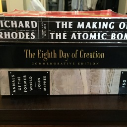 Big Books of Science Narrative: my reading list for 2016